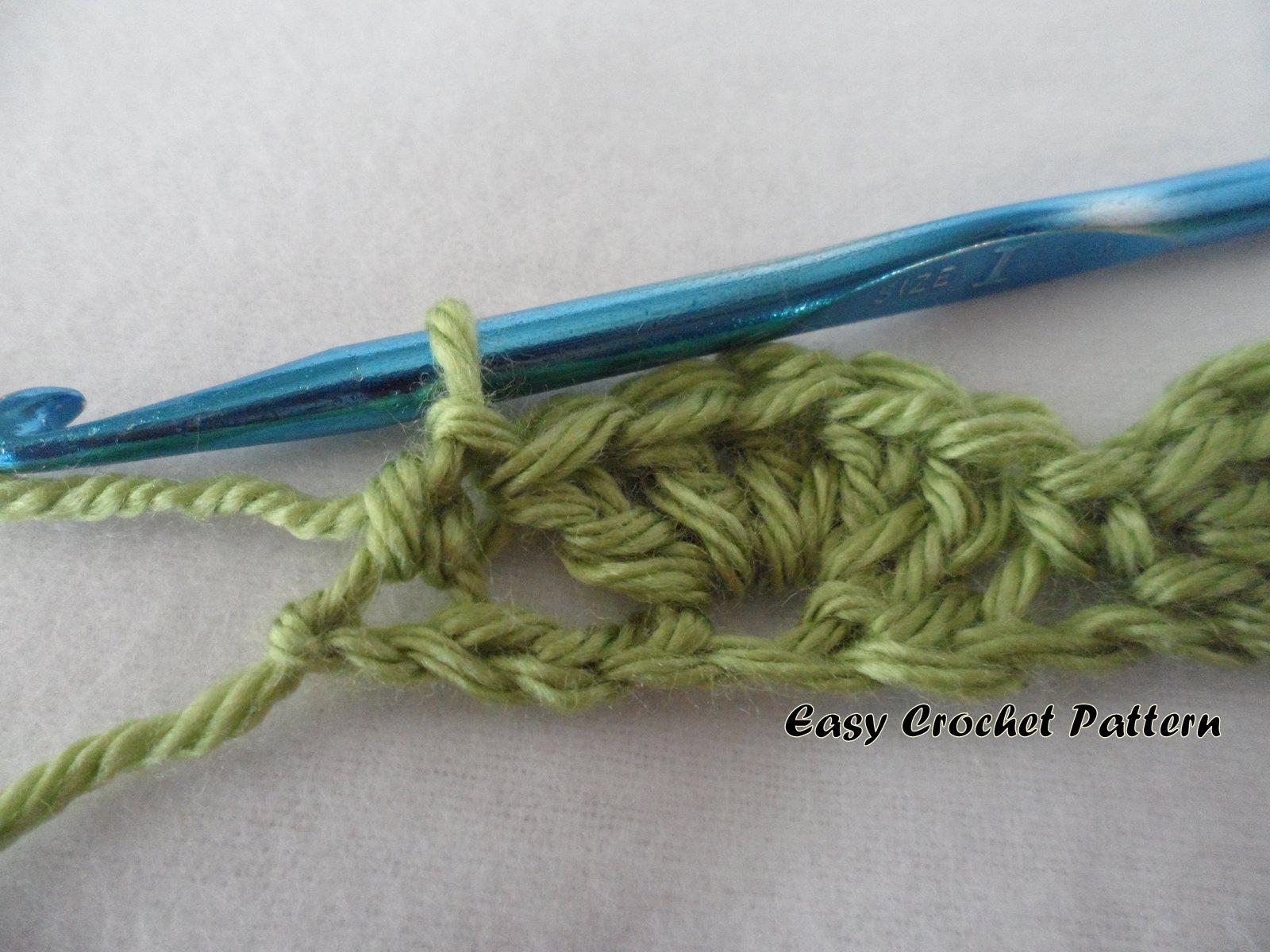 Easy Crochet Pattern: Crochet Shell Afghan Tutorial