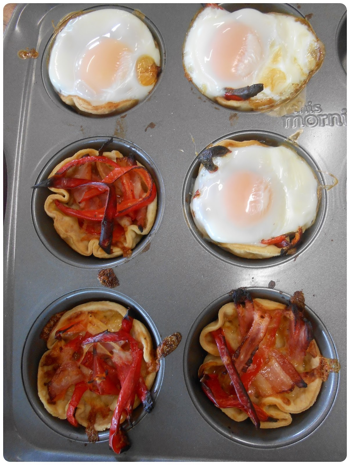 Bacon-and-Egg Breakfast Tarts Recipe — Dishmaps