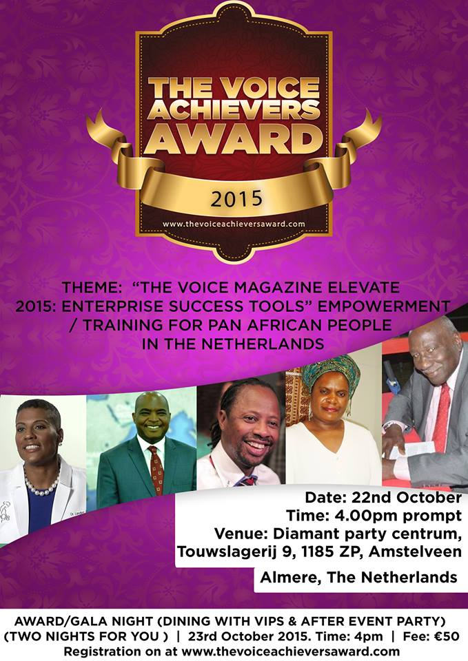 The Voice Achievers Award-Muzvare Betty Image of Africa