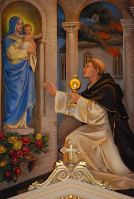 Wizerunek św. Jacka z bazyliki pod jego wezwaniem w Chicago