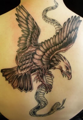 Attraction of Eagle Tattoos Designs