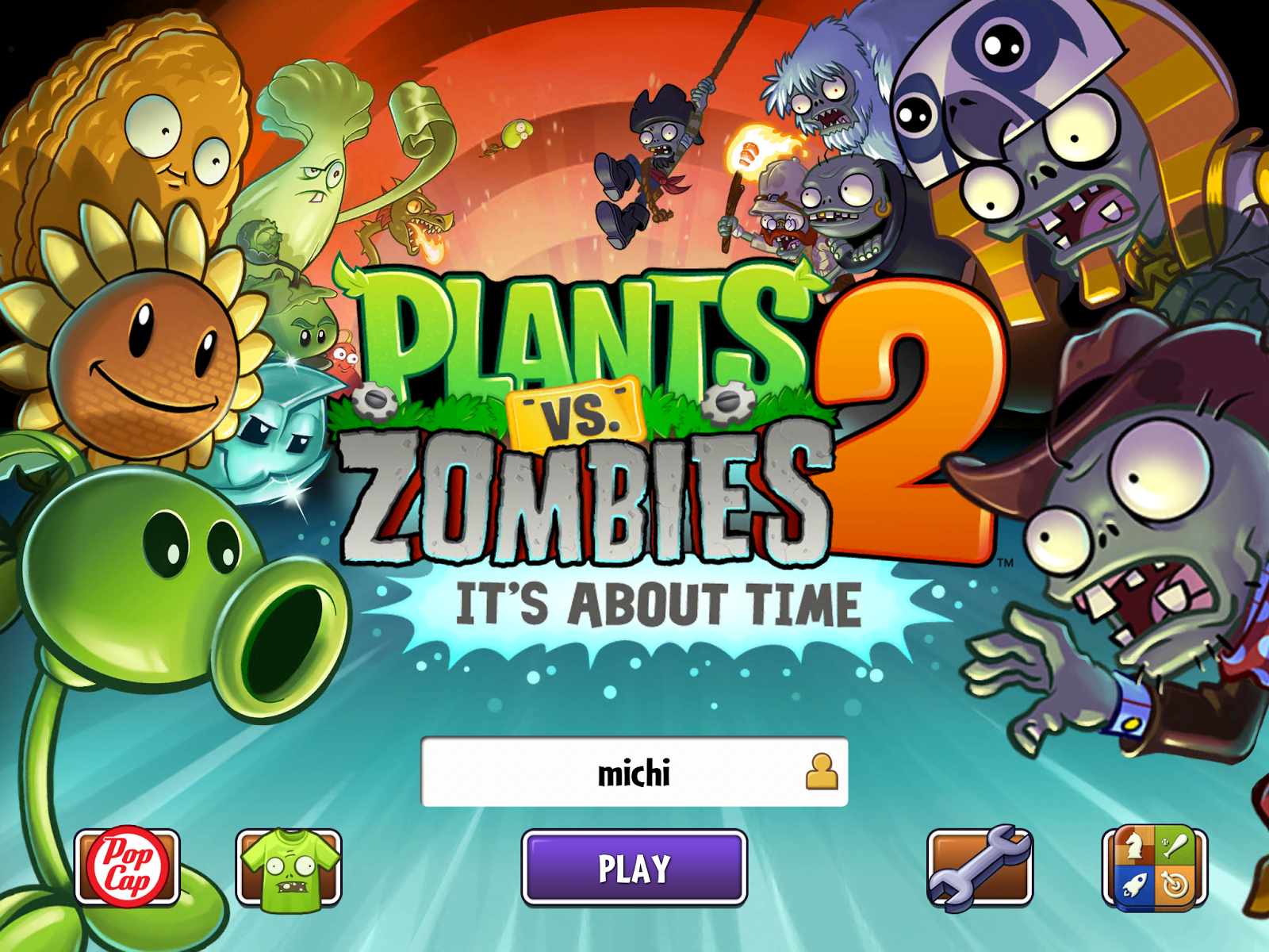 Michi Photostory: Plants vs Zombies 2