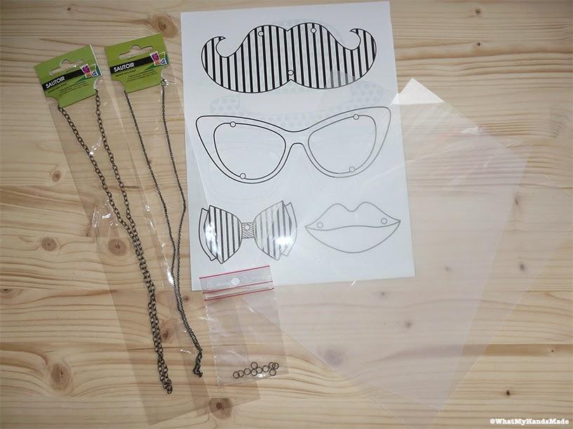 Kit moustache plastique dingue - Graines Créatives - Créapause