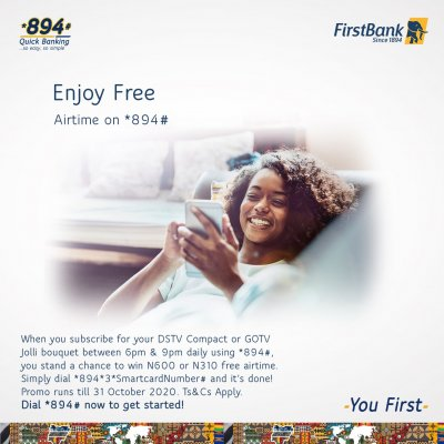 FirstBank Airtime Gift