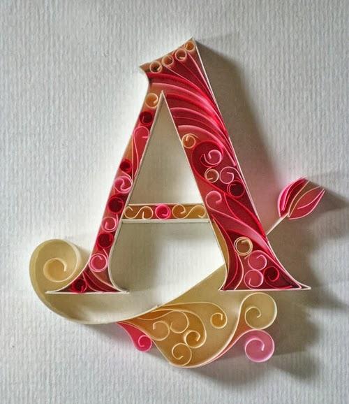 01-A-Quilling-Illustrator-Typographer-Calligrapher-Paper-Sculptor-Sabeena-Karnik-Mumbai-India-Sculptures-A-to-Z-www-designstack-co