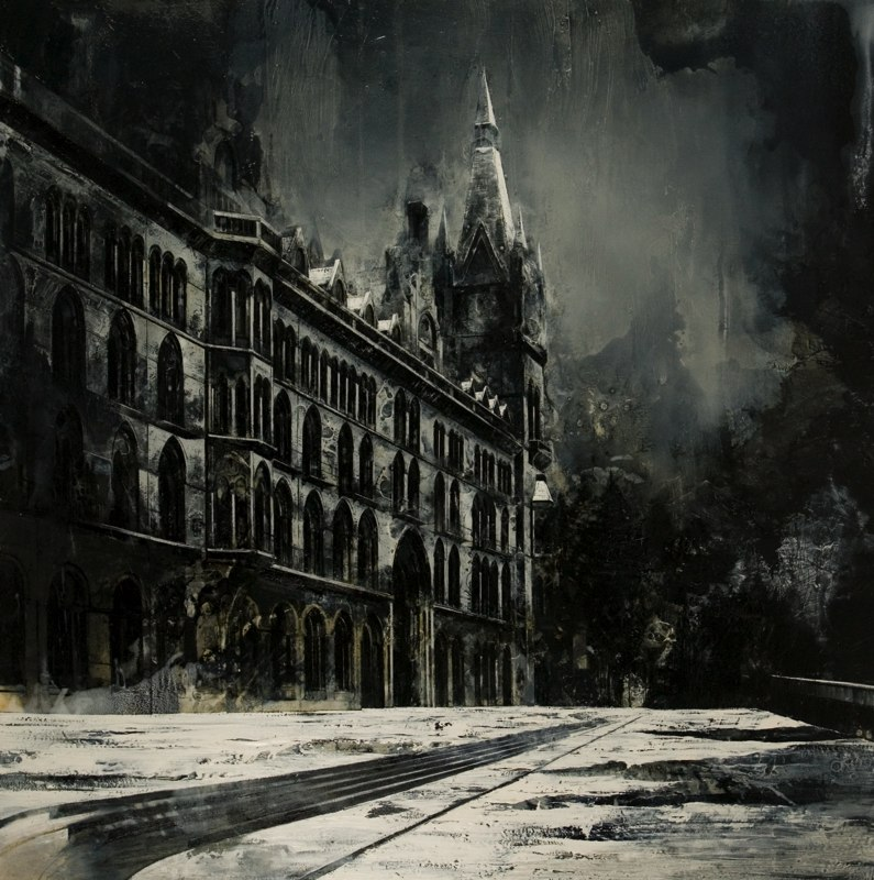 19-What-Remains-Mark-Thompson-Austere-and-Desolate-Cityscapes-Paintings-www-designstack-co