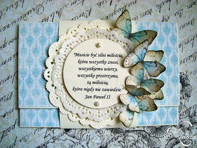 Kwiaty, koronki, motyle...