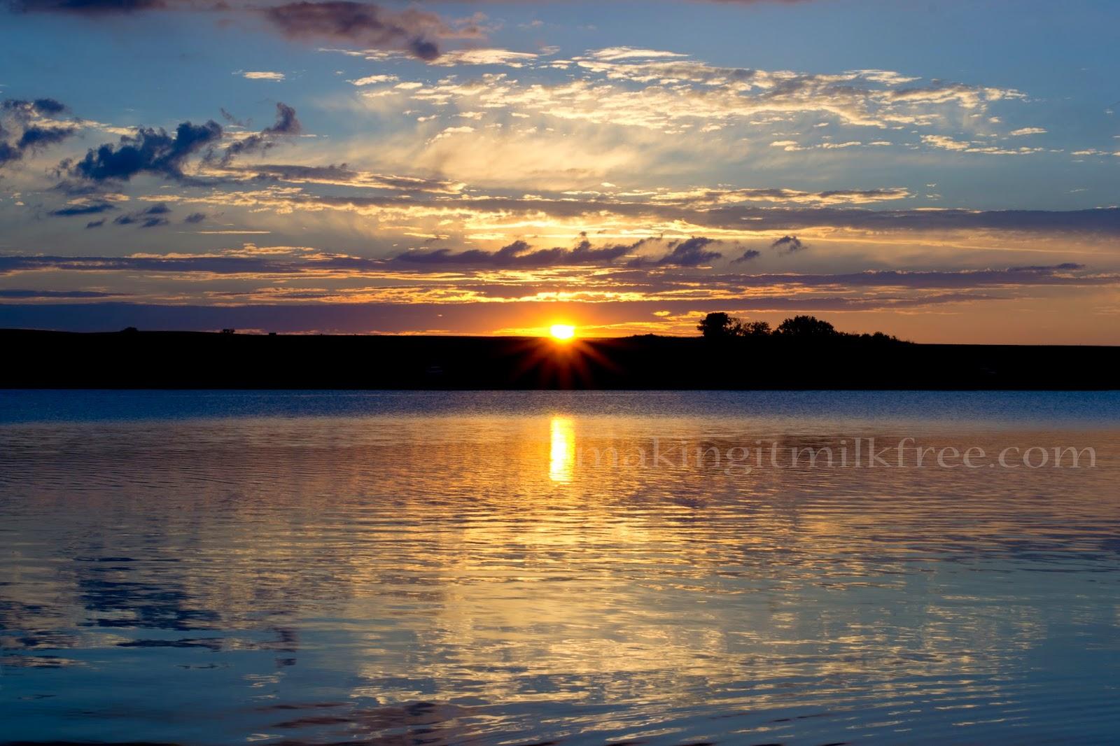 #camping #fishing #sunset #kansas #kids