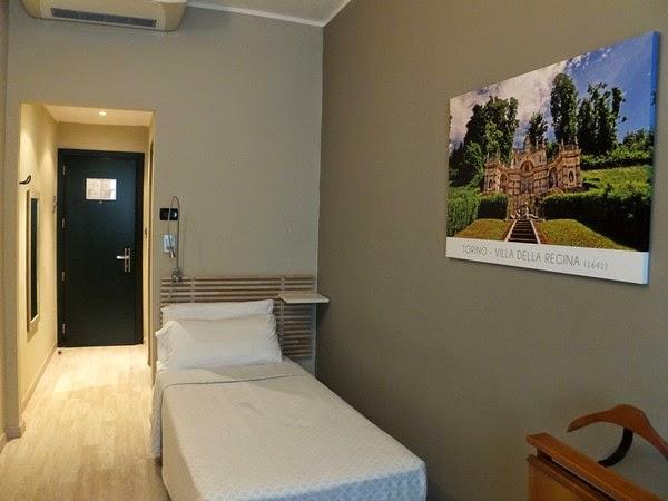 Turin Italie gran mogol hotel