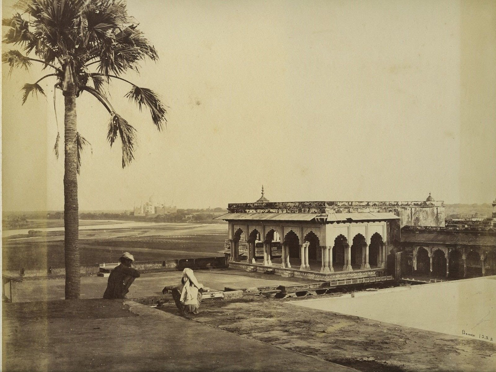 The Diwan-i-Khas in Agra Fort - 1865