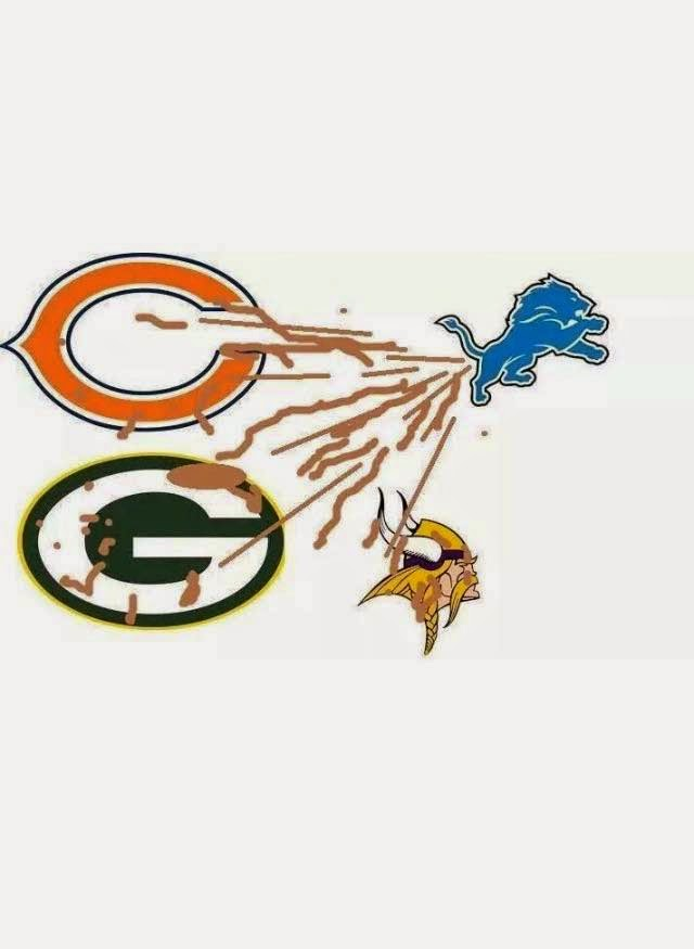 Lions Shitting to bears, packers and vikings