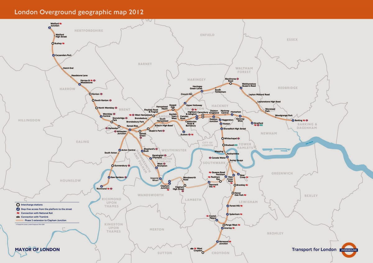 FOCUS TRANSPORT LONDON OVERGROUND INFRASTRUCTURE UPGRADE