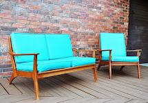 Sarah' Loves Thrifting Thursdays Retro Patio Furniture