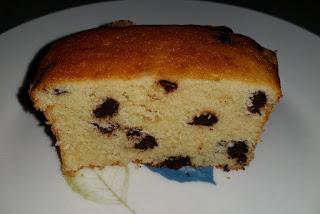 עוגת וניל עם פצפוצי שוקולד