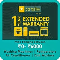 Buy Warranty: Onsite 1-year Extended Warranty for Large Appliance worth Rs.480 for Rs.99 Only @ Amazon