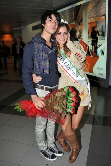 Giusy Buscemi, Giusy Buscemi with her boyfriend, Giusy Buscemi Miss Italy, Giusy Buscemi Miss Italy 2012, Giusy Buscemi hd photos, Italian Model, Actress Wallpapers,