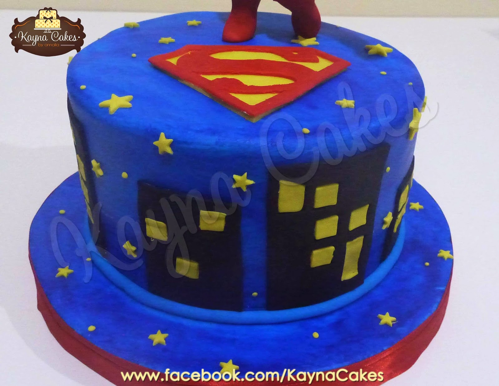 Nice Labels: Baby Shower, Cakes, Superman