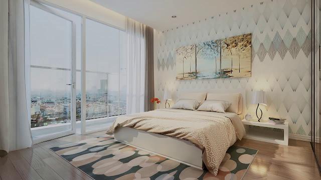 Thiết kế nội thất phòng ngủ dự án Eco Green City