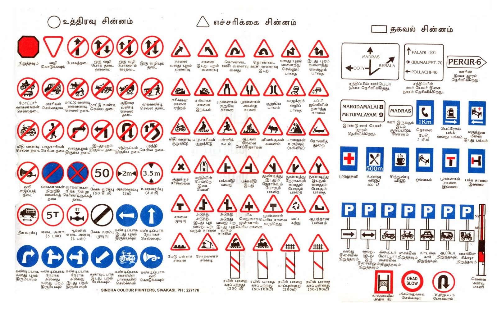 traffic signs in hindi Test your knowledge on the meanings of traffic and road signs part 1 of 5, consisting of 30 multiple.