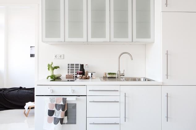 espacios pequeños cocina