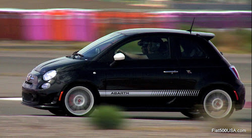 Fiat 500 Abarth Race Track