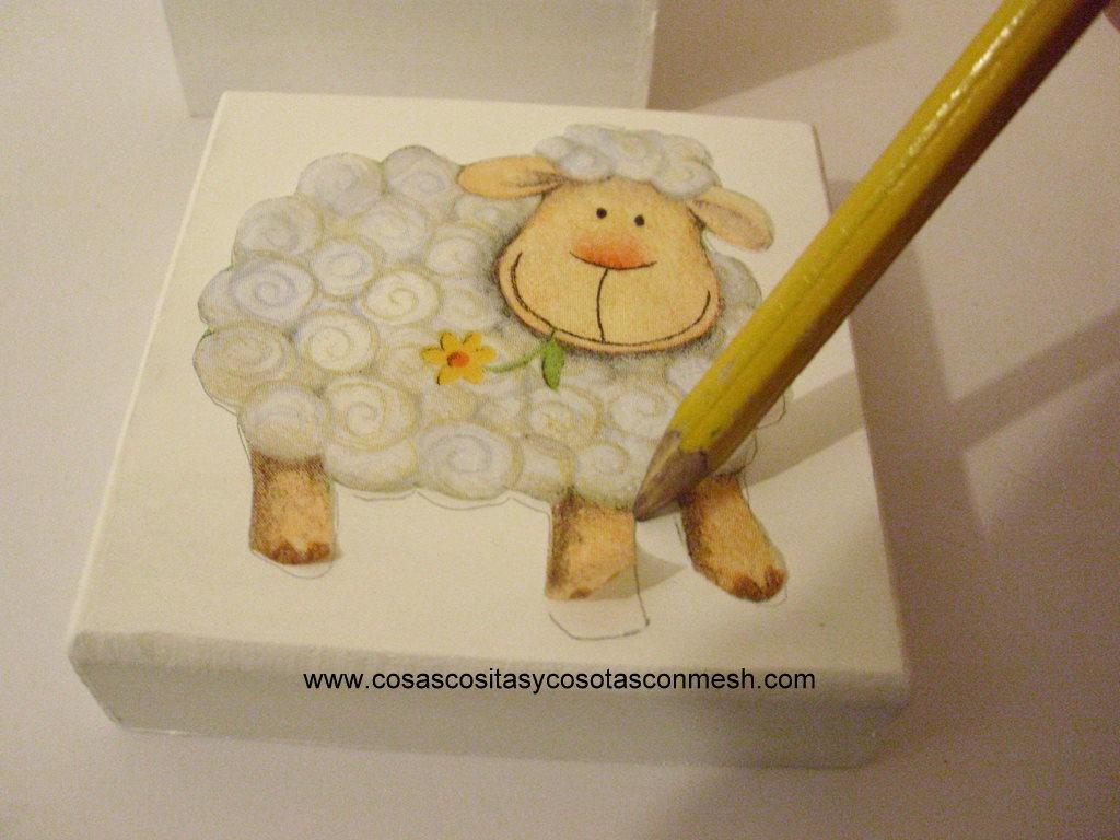 Ideas de manualidades cajas de madera navide as - Manualidades decorar cajas de madera ...