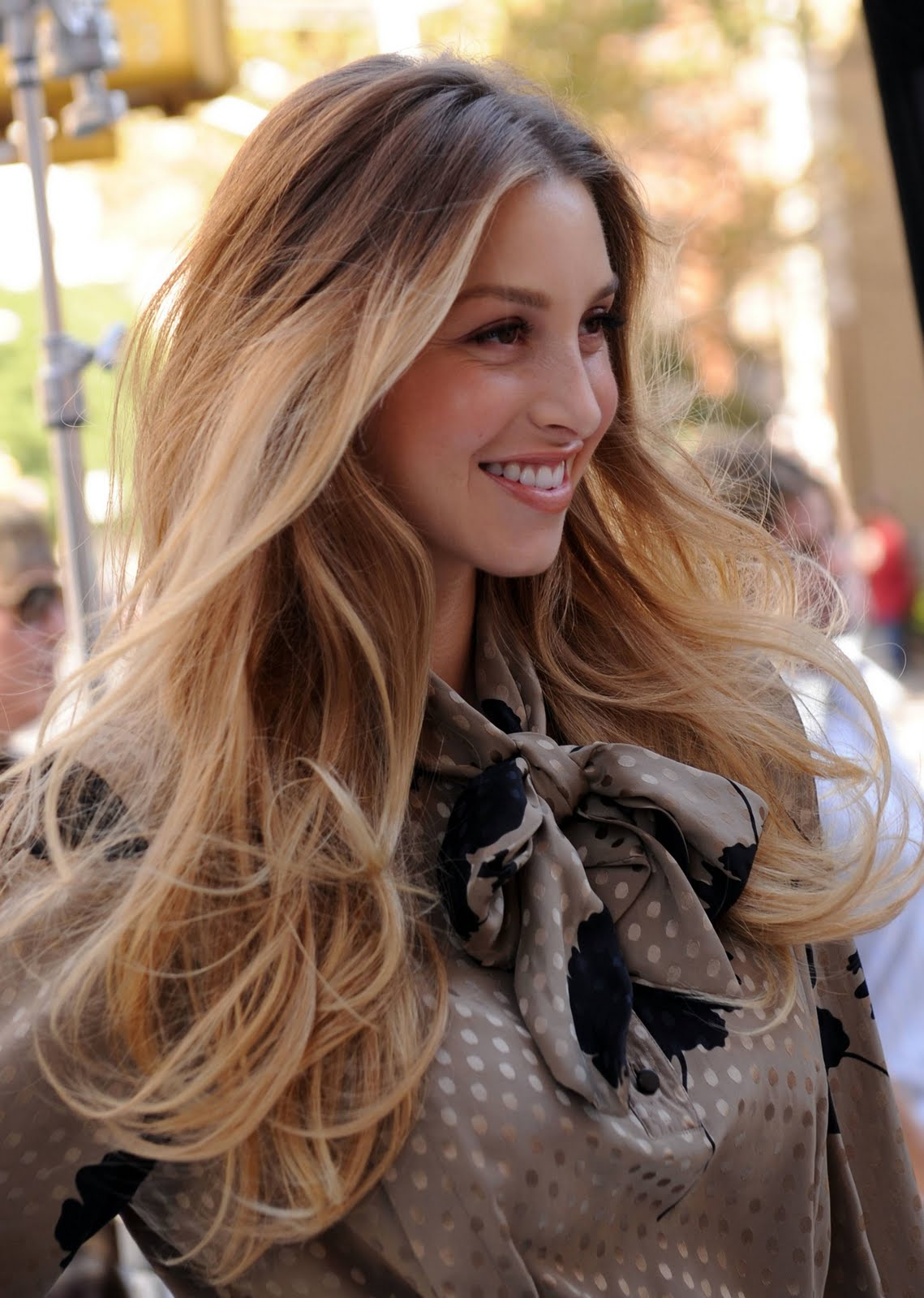 Celebrity Ombre Hairstyle - Whitney Port