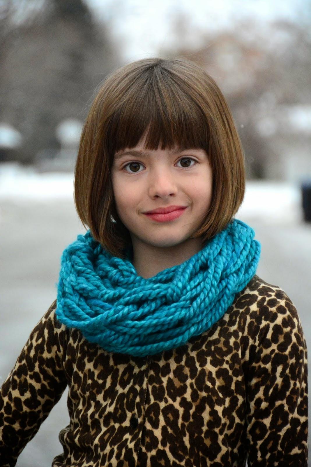 Arm Knitting Cowl : Aesthetic nest knitting arm knit child s cowl tutorial