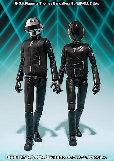 Bandai SH Figuarts Daft Punk Figures