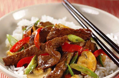 Sizzling Beef Stir-Fry