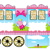 Peppa Pig Fairy: Princess Carriage Shaped Free Printable Box.