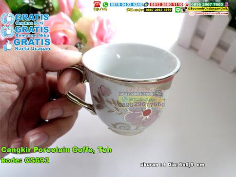 Cangkir Porcelain Coffe Teh