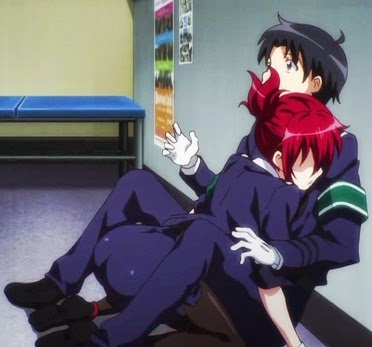 """""""logo percebi que Takayama seria o personagem principal pelo apelo de cenas constrangedoras"""""""