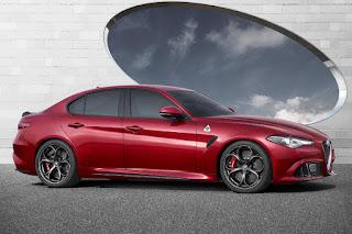 Alfa Romeo Giulia Quadrifoglio (2016) Front Side 1
