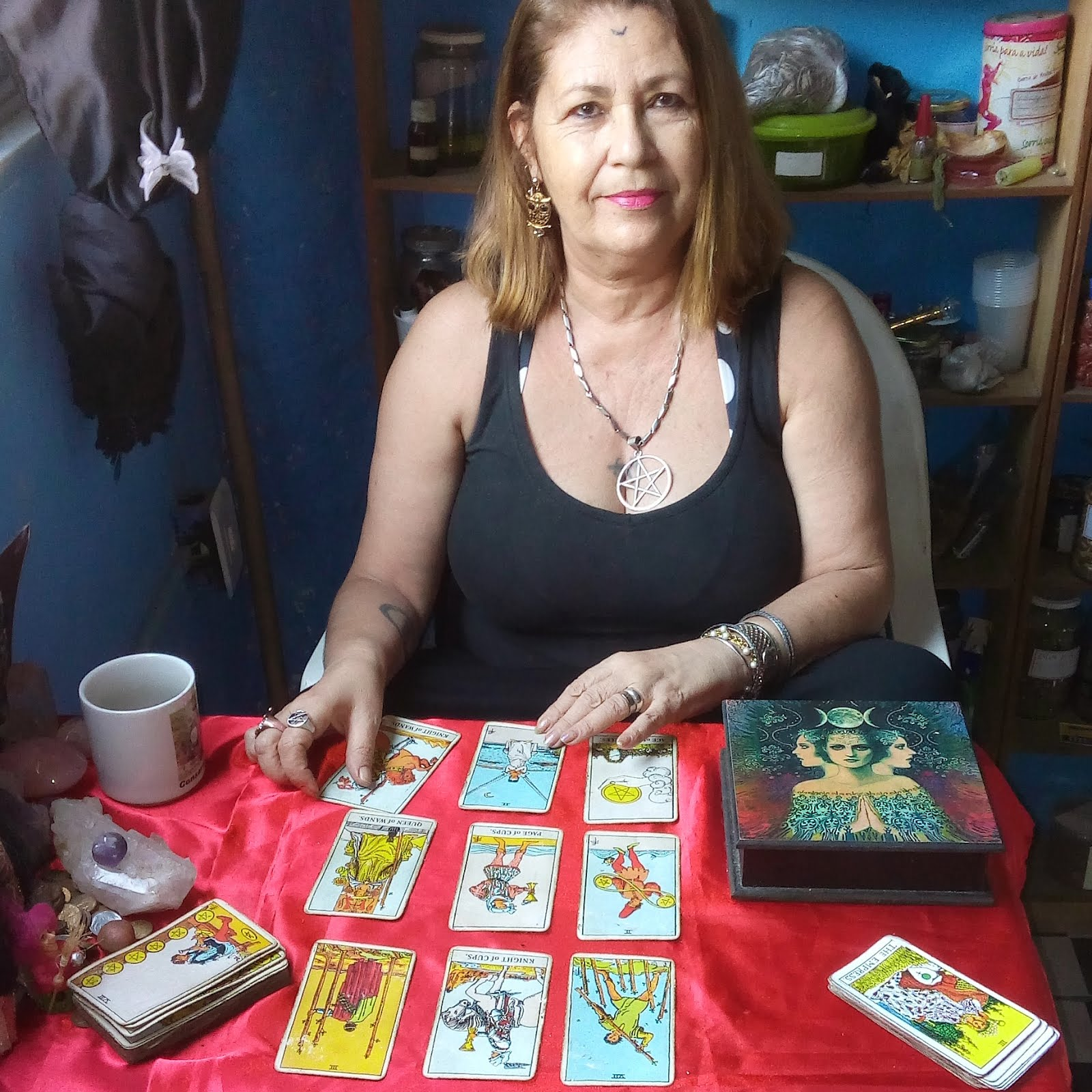 MESTRA NA ARTE DO TAROT
