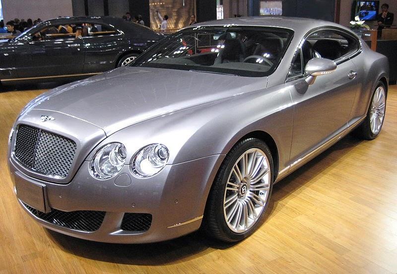 koleksi mobil sport Bentley Continental GTC