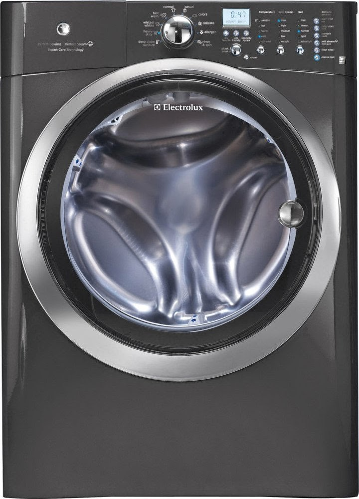 electrolux washer and dryer. energy star electrolux 4.33 cf titanium stackable with steam cycle front load washers washer and dryer