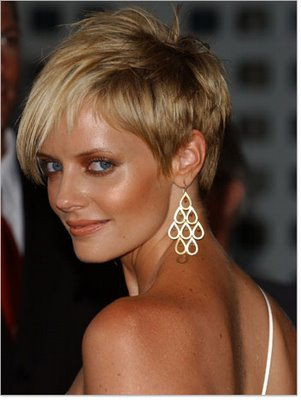Celebrities Short Hair Style