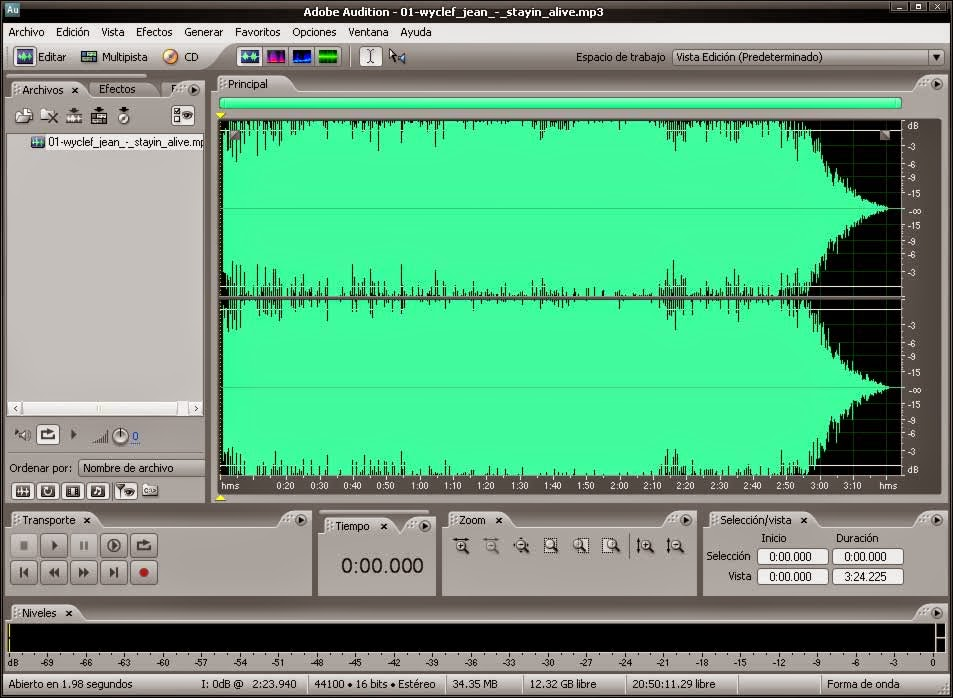 how to use adobe audition 3.0