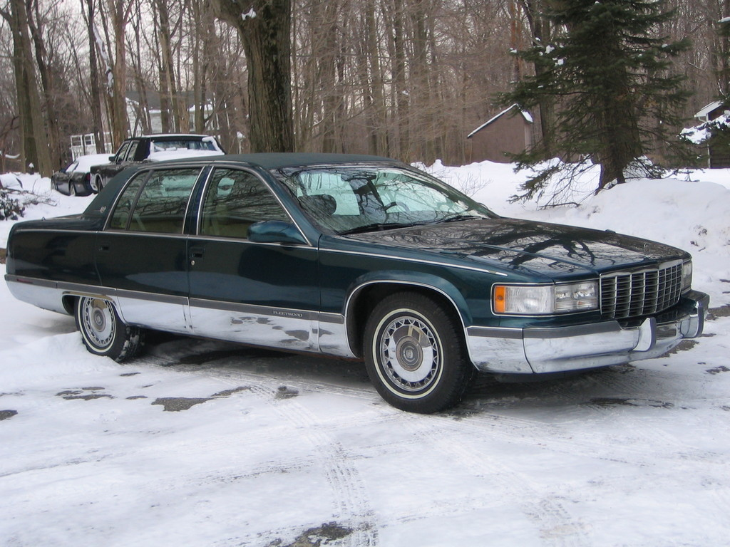 1995 cadillac fleetwood sedan long and strong. Cars Review. Best American Auto & Cars Review