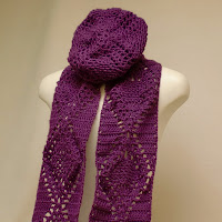This scarf and hat set is on sale today!