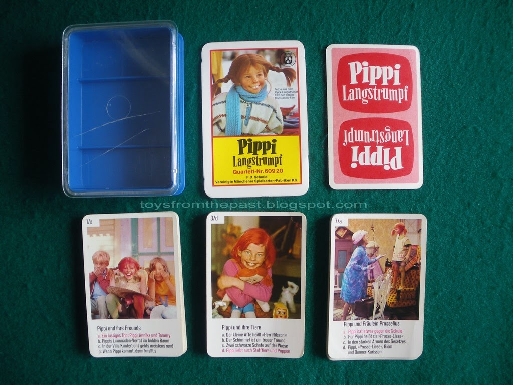 Toys from the Past: #521 FX SCHMID – PIPPI LANGSTRUMPF and PIPPI ...