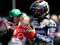Lorenzo  broken left finger