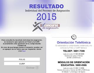 Resultados individuales exámen COMIPEMS 2015 por internet publicacion registro 30 de Julio 2015