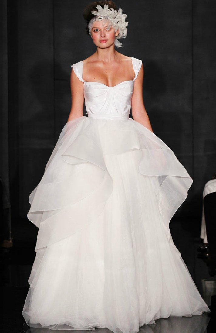 My Kinda Vintage: Peplum Wedding Dress?