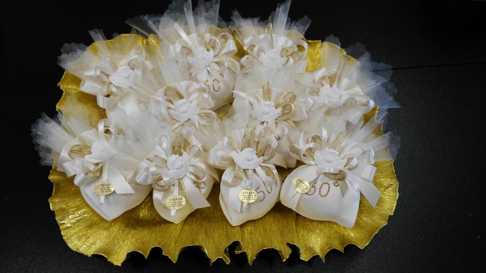 Amato bombonierestefan: Bomboniere Nozze d'oro per i 50 anni di Matrimonio PV76