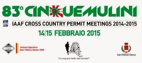 Cinque Mulini 2015 in Diretta TV