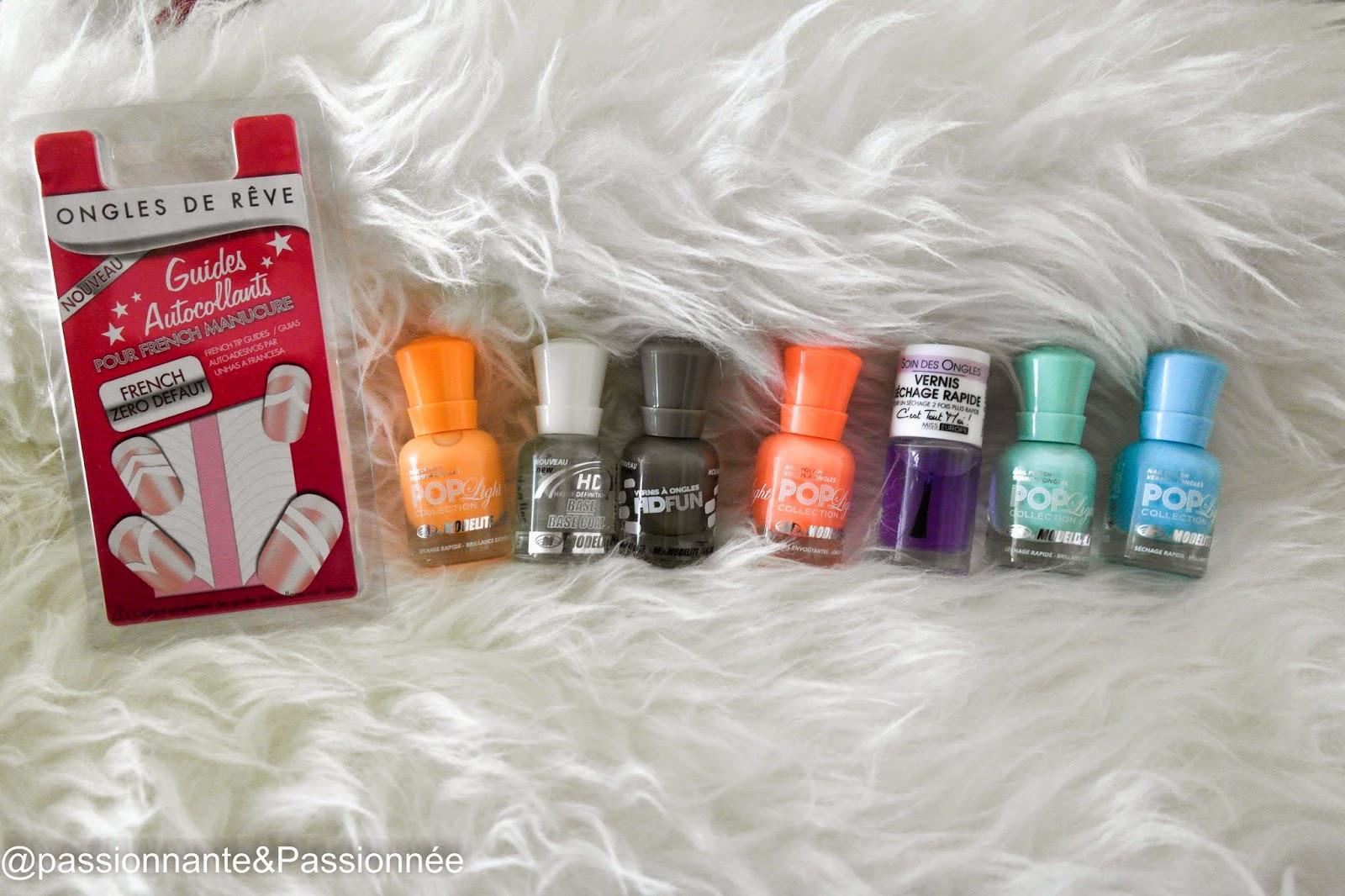 petits prix : accessoires nail art