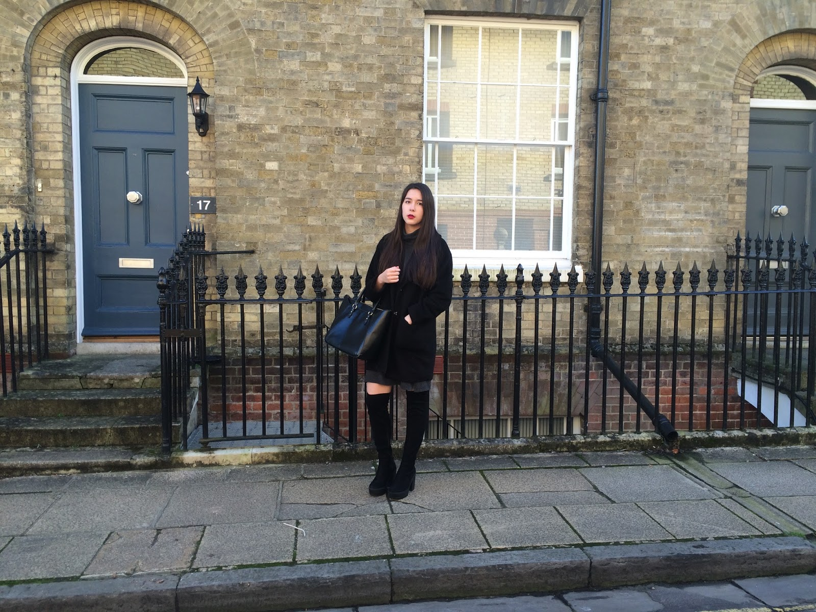 ootd, outfit post, look, fashion blogger, cocoon coat, zara bag, autumn winter 2015