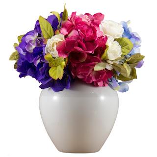 arranjo de flores permanentes, loja de decoração, artigos de decoração